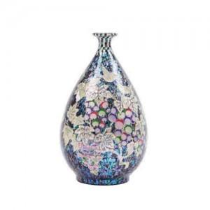 螺鈿花瓶(ブドウ)