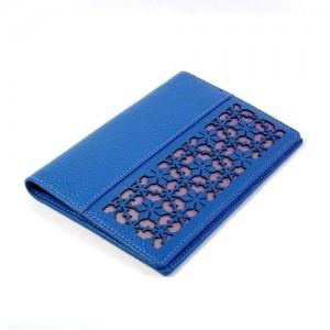 牡丹ドアパスポート財布(青)
