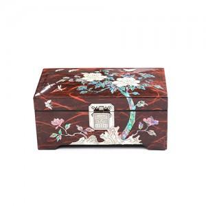 か(松鶴、牡丹)直宝石箱
