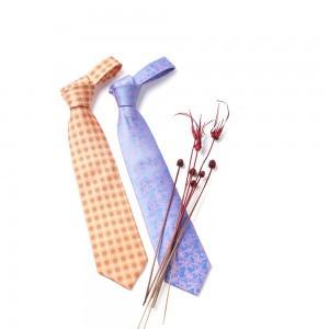 伝統模様シルクネクタイ
