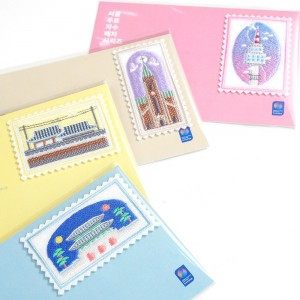 ソウルスタンプ刺繍パッチ4種