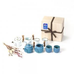 竹の話2人茶器セット